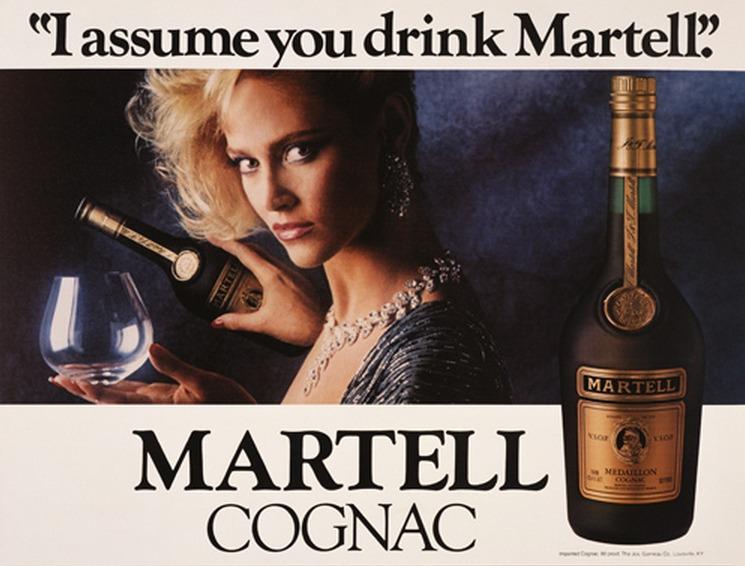 Jeff Koons-I Assume You Drink Martell-1986