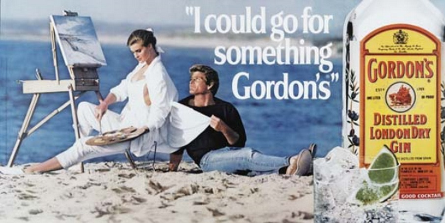 Jeff Koons-I Could Go for Something Gordon's-1986