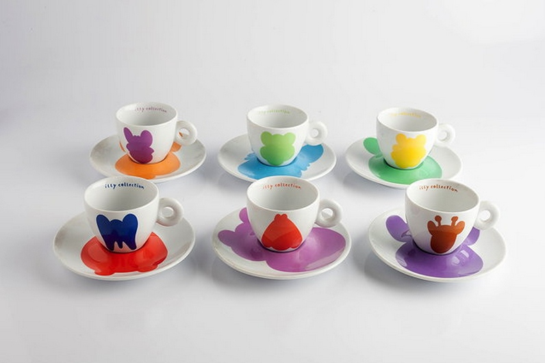 Jeff Koons-Illy Collection Espresso Set-2001