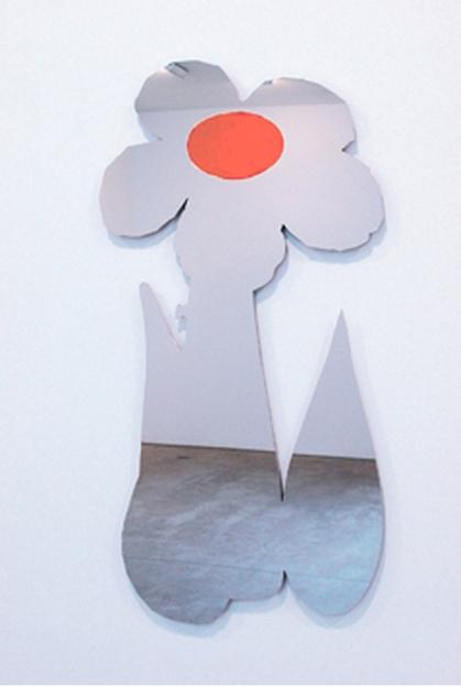 Jeff Koons-Inflatable Flower (Orange)-2011
