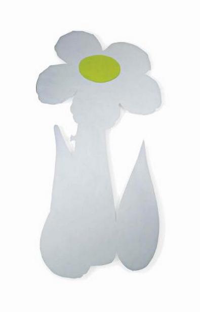 Jeff Koons-Inflatable Flower (Yellow)-2000