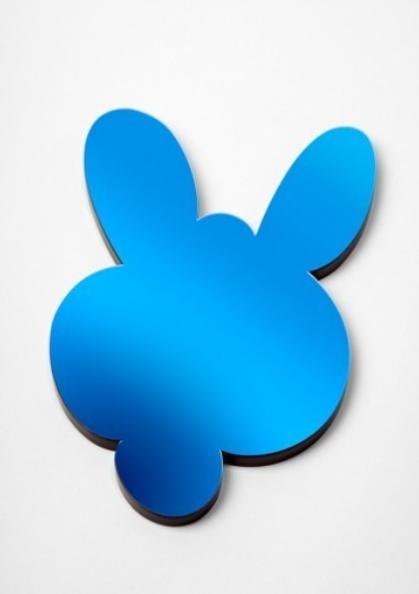 Jeff Koons-Kangaroo Miror Box (Blue)-2003