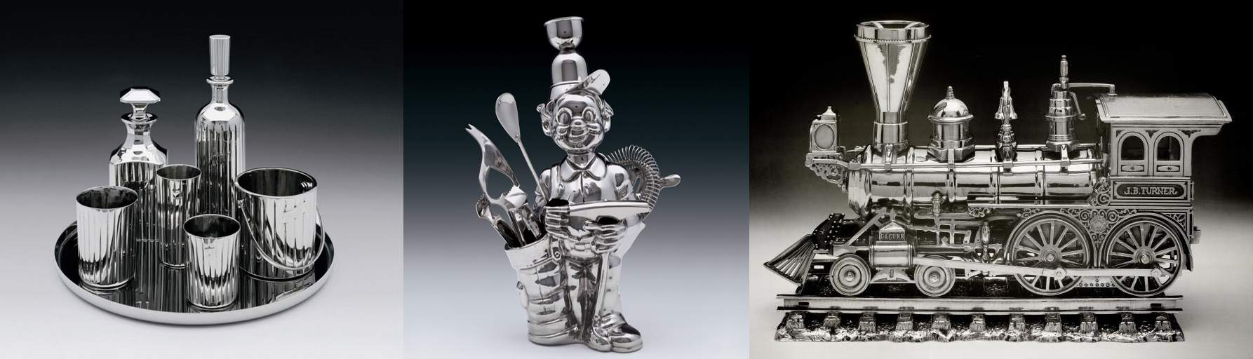 Jeff Koons-Luxury And Degradation (Baccart Crystal, Fisherman Golfer, J.B. Turner Engine)-1986