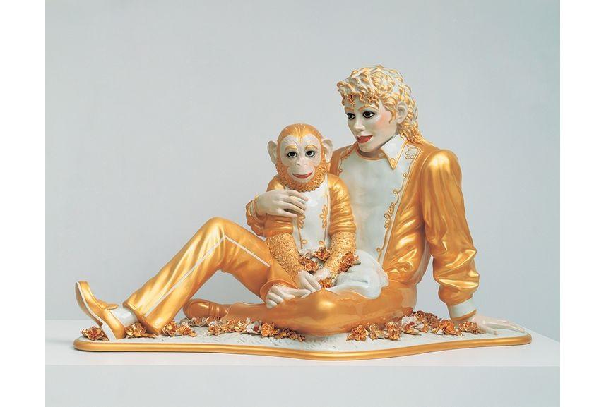 Jeff Koons - Michael Jackson, via nybooks com