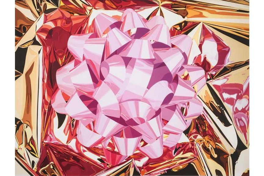 Jeff Koons - Pink Bow, 2013