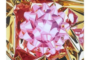 Jeff Koons - Pink Bow 2