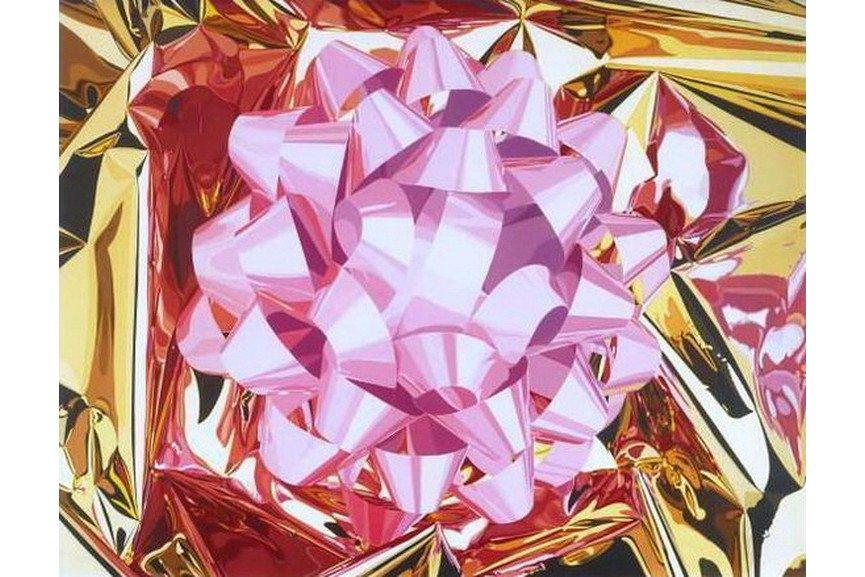 Jeff Koons - Pink Bow 2