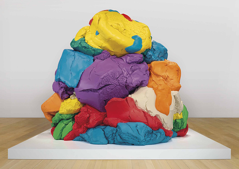 Jeff Koons - Play-Doh, 1994-2018