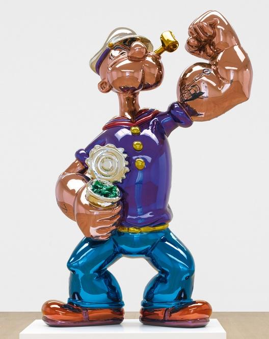 Jeff Koons-Popeye-2011