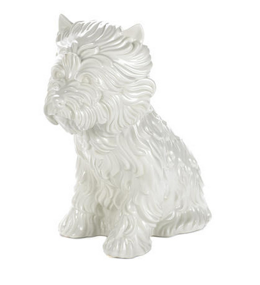 Jeff Koons-Puppy (Vase)-1998