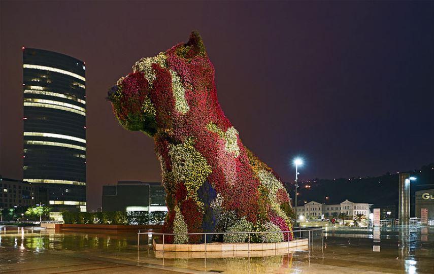 Jeff Koons - Puppy, Bilbao