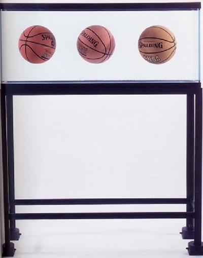 Jeff Koons-Three Ball Total Equilibrium Tank-1986