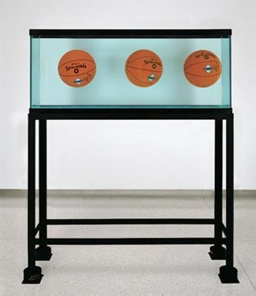 Jeff Koons-Three Balls Total Equilibrium Tank-1985