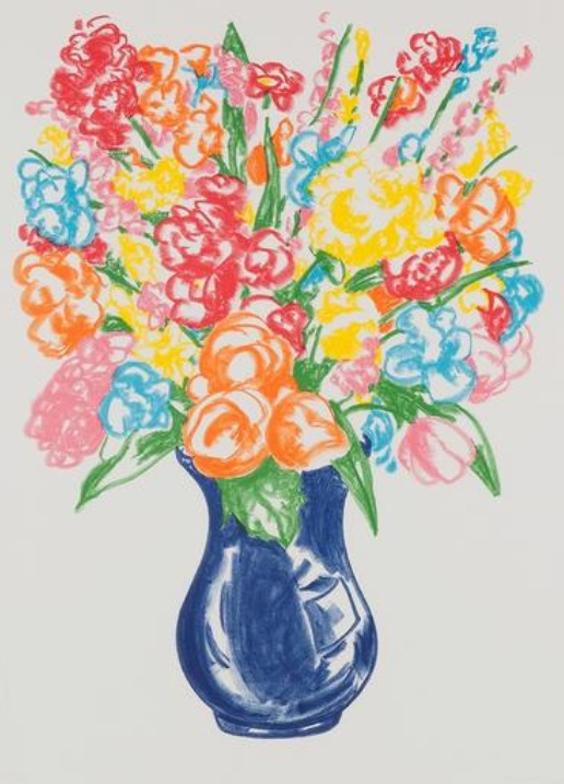 Jeff Koons-Untitled (Vase of Flowers,Doctors of the World)-2001