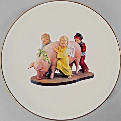 Jeff Koons-Ushering in Banality, from the Banality Series-2013