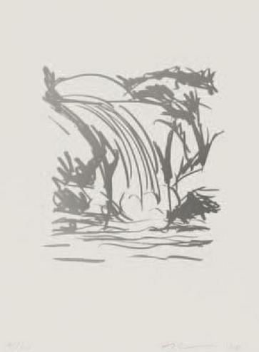 Jeff Koons-Waterfall (Jeff Koons Art Edition)-2008