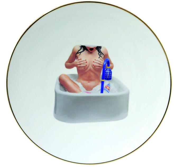 Jeff Koons-Woman in Tub-2013