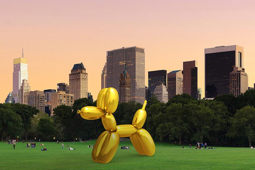 Jeff Koons x Snapchat Art