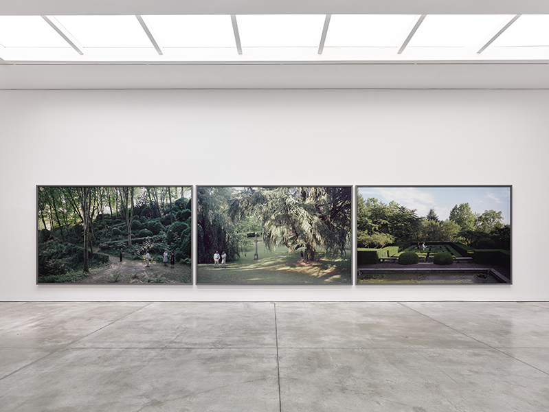 Jeff Wall - I giardini / The Gardens, 2017