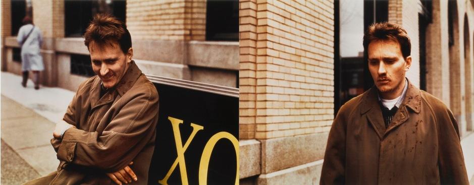 Jeff Wall-Man In Street (Diptych)-1995