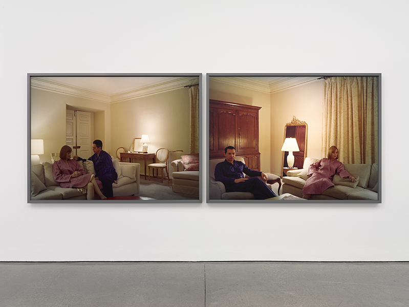 Jeff Wall - Pair of interiors, 2018
