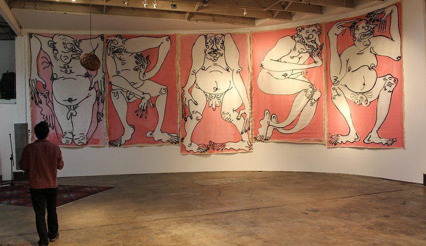 jeffreycheung - Trash Series, Lobot Gallery, 2012, installation view
