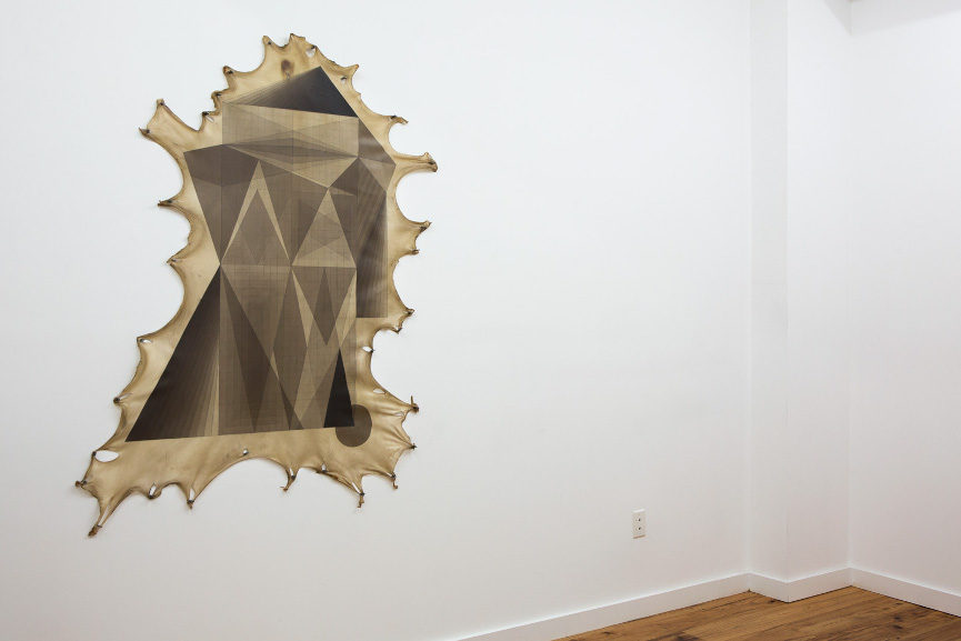 Jeffrey Gibson - Document, at Marc Straus Gallery