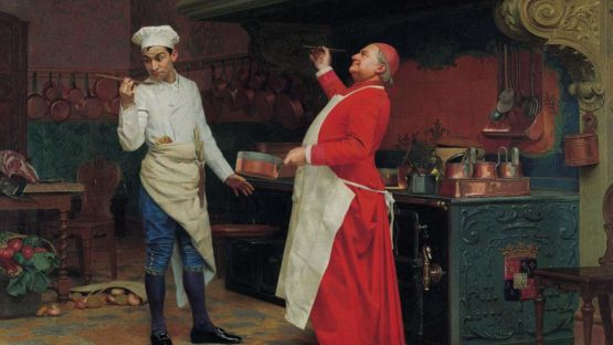 Jehan-Georges Vibert - The Marvelous Sauce, 1890