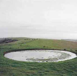 Jem Southam-Ditchling Beacon, Dew Pond-1999