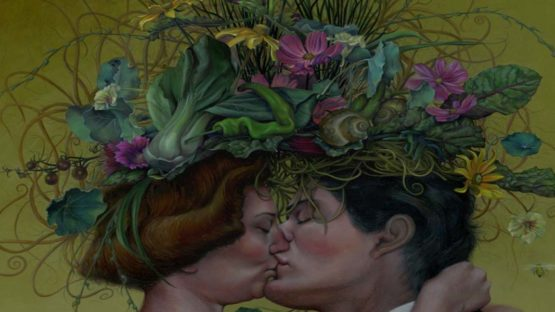 Jennifer Knaus - The Kiss (detail), 2013