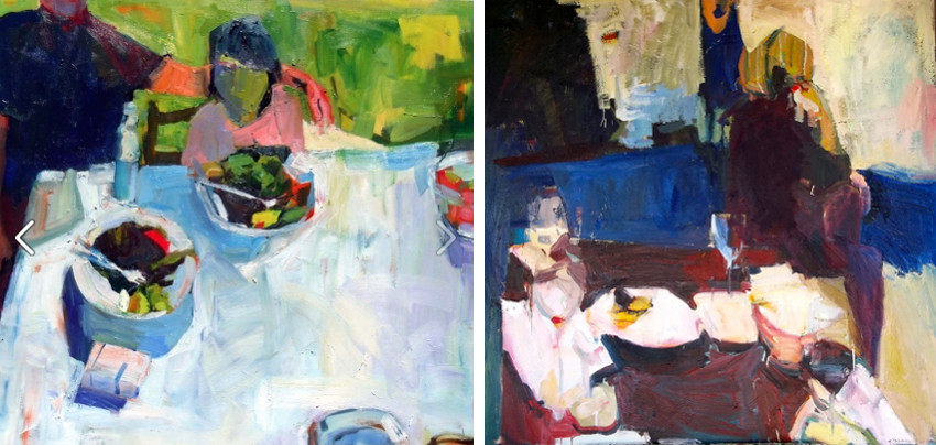 Jennifer Pochinski - Kalamata Lunch, 2012 - The Wine Glass, 2013