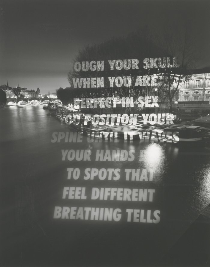 Jenny Holzer-Breathing Tells-2006