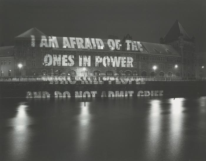 Jenny Holzer-I Am Afraid-2006