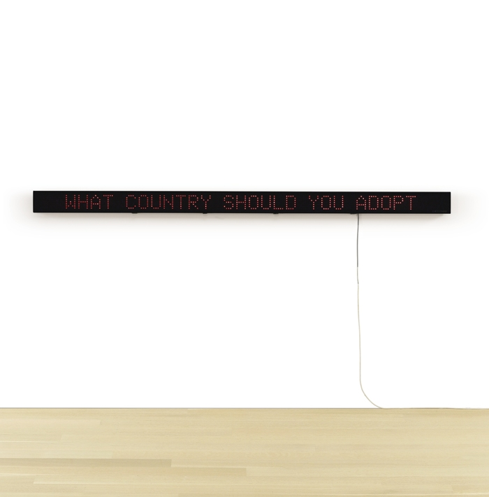 Jenny Holzer-Selections From The Survival Series-1984
