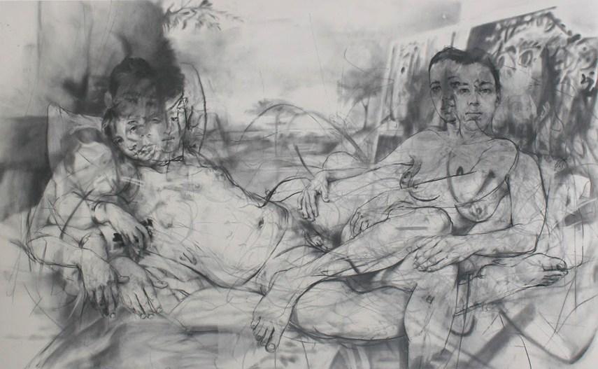 Jenny Saville - Mirror - Image via pinimgcom
