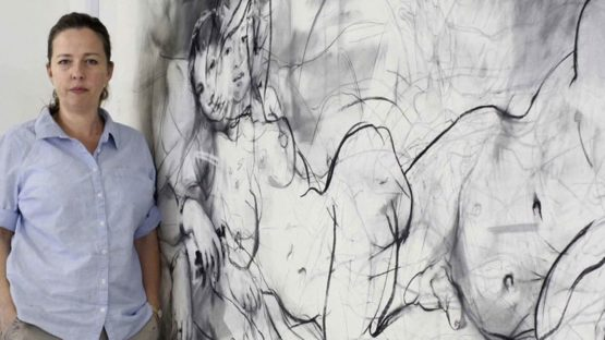 Jenny Saville - Photo of the artist - Image via royalacademy and gallery like