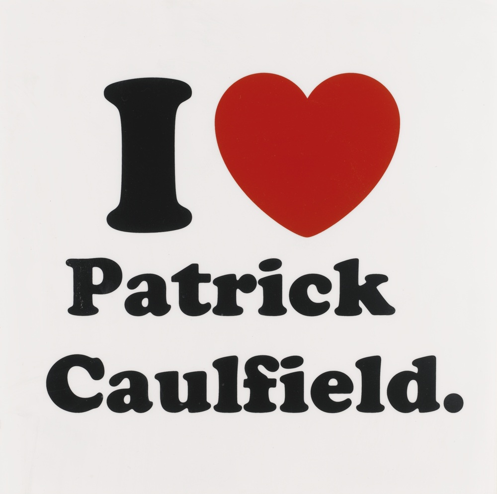 Jeremy Deller-I Love Patrick Caulfield.-2010