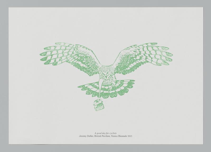 Jeremy Deller green print