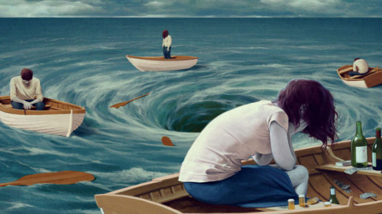 Jeremy Enecio - Being Sucked into the Black Hole of Addiction - Image via bridgesofhopeblogwordpresscom