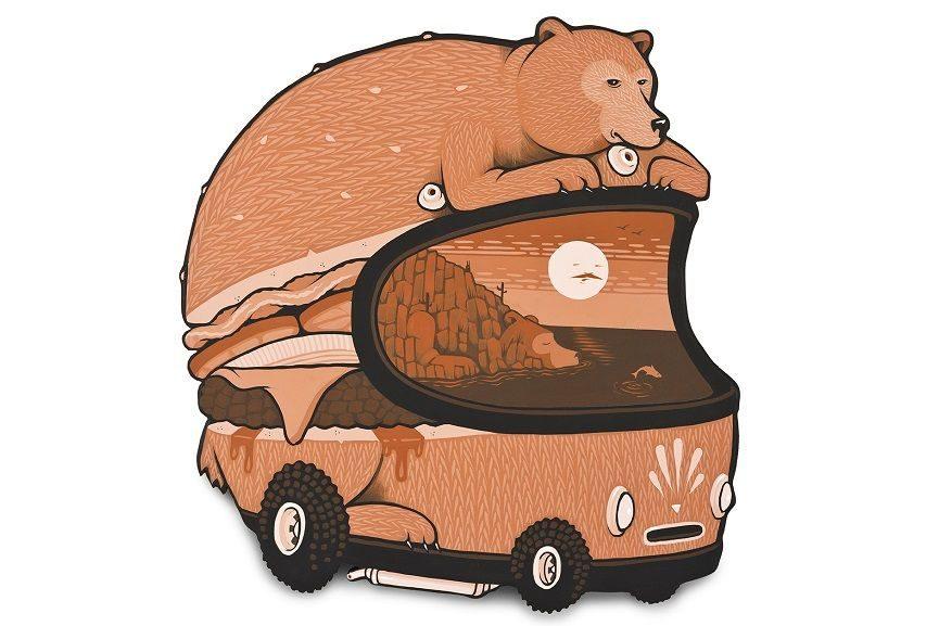 Baja Burger Bear