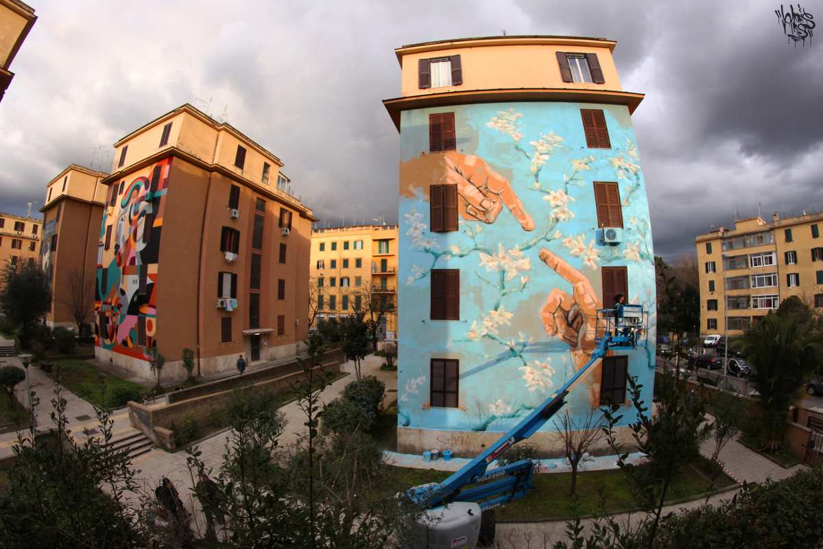 Jerico - Distanza Uomo-Natura, Rome, 2015 - Photo by Urbis Ars
