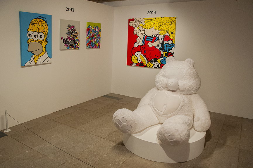 Jerkface PADRE Gallery, Urvanity Art 2020 Madrid