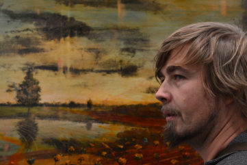 Contemporary Landscape and Venetian Painting - Jernej Forbici at ART.FAIR Cologne