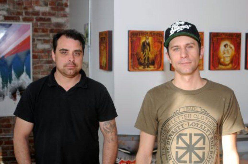 detroit art travel, interview, jesse cory, dan armand, 1xrun