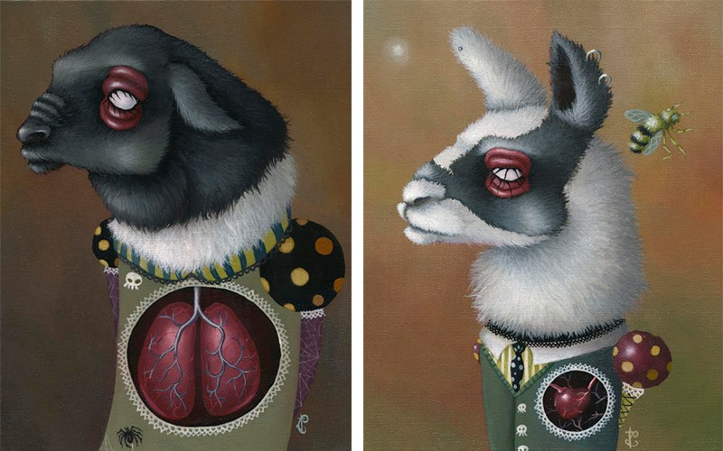 Jessica Charlotte - Eldon Exhales and Llama Love, 2009