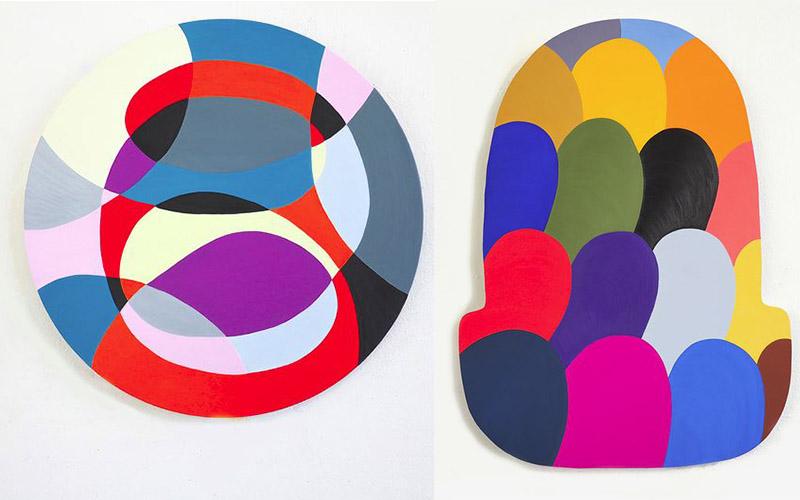 Jessica Snow - Centrifuge and Pink Link, 2014