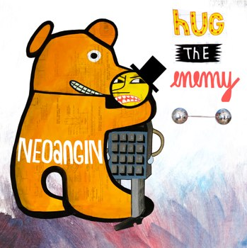 Jim Avignon - Neoangin's cover Hug the enemy, 2014