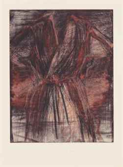 Jim Dine-A Robe in a Furnace-1980