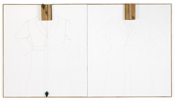 Jim Dine-Double Silver Point Robes-1964