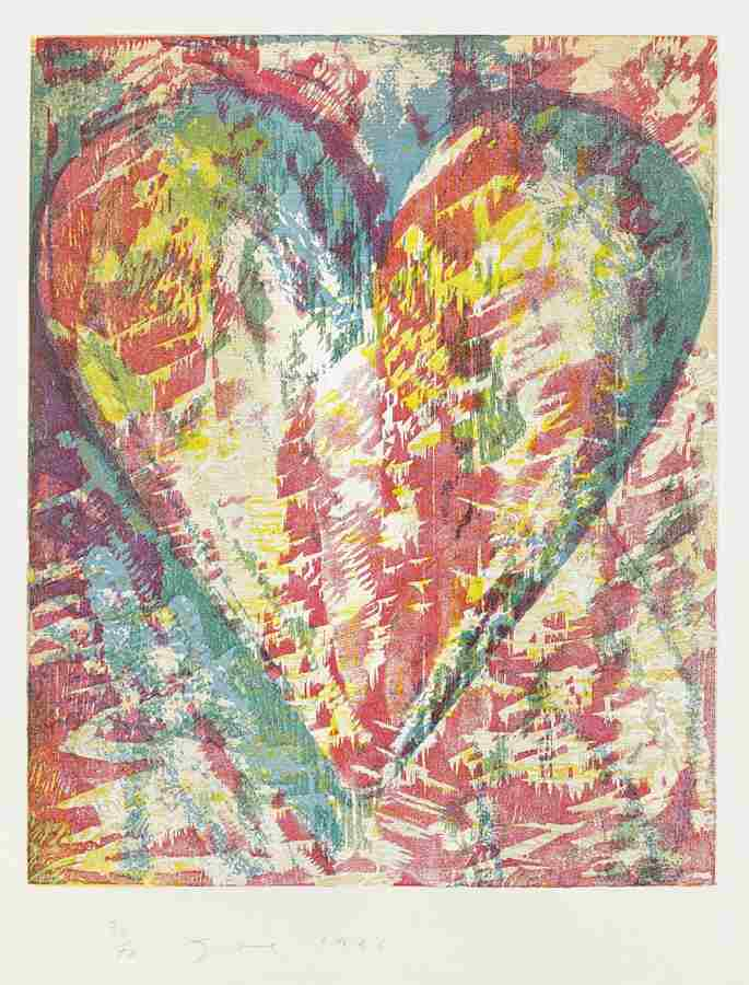 Jim Dine-Ginger and Uni-1996